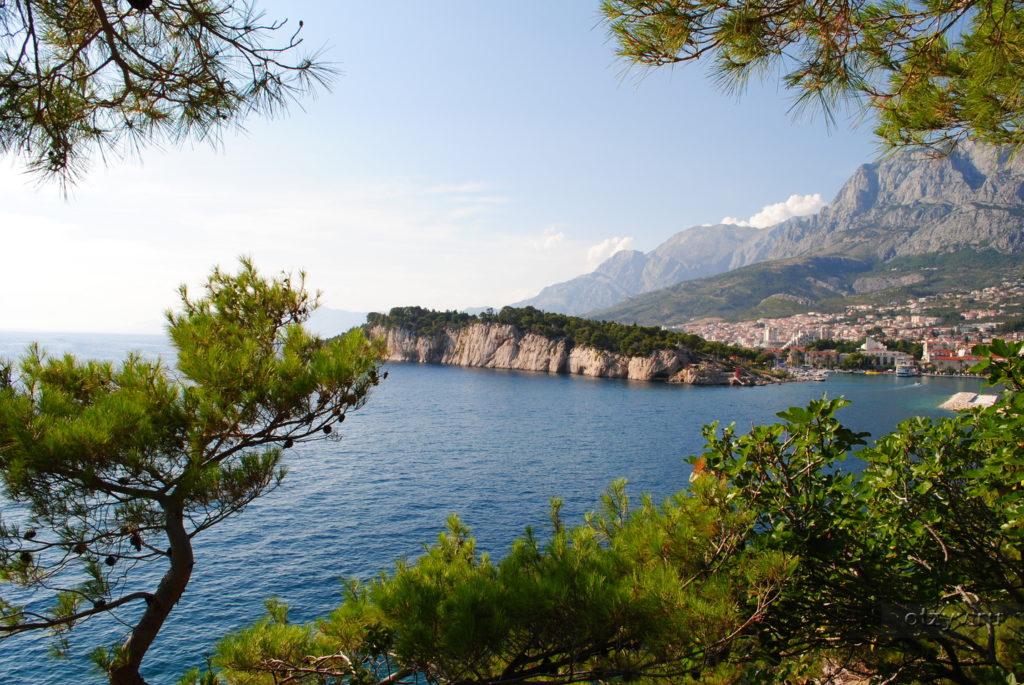 макарска отдых, хорватия макарска, море макарска