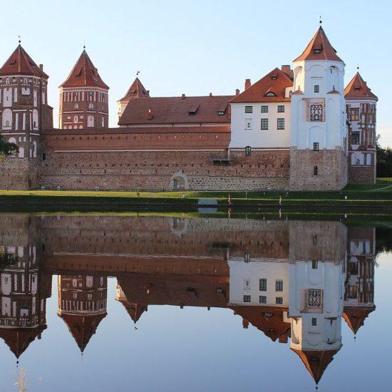 castles Mir and Necvizh, castles of Belarus, belarus castles